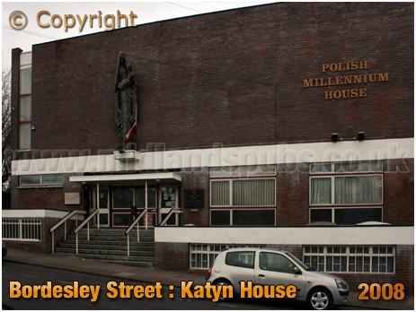Birmingham : Katyn House on Bordesley Street [2008]