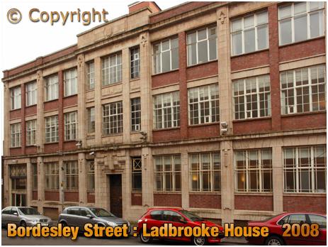 Birmingham : Ladbrooke House in Bordesley Street [2008]