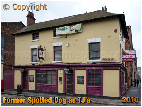Birmingham : The Spotted Dog on the corner of Bordesley Street and Meriden Street in Digbeth [2010]
