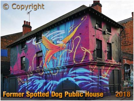 Birmingham : Former Spotted Dog on the corner of Bordesley Street and Meriden Street in Digbeth [2018]