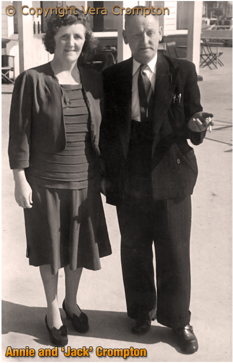 Birmingham : Annie and 'Jack' Crompton, former managers of the Spotted Dog