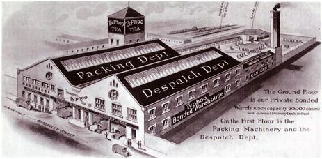 Birmingham : Typhoo Bonded Warehouse [c.1926]
