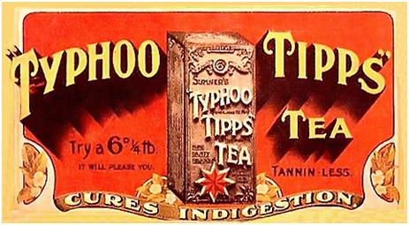 Typhoo Tipps Tea