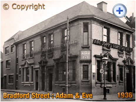 Birmingham : The Adam and Eve in Bradford Street at Bordesley [1936]
