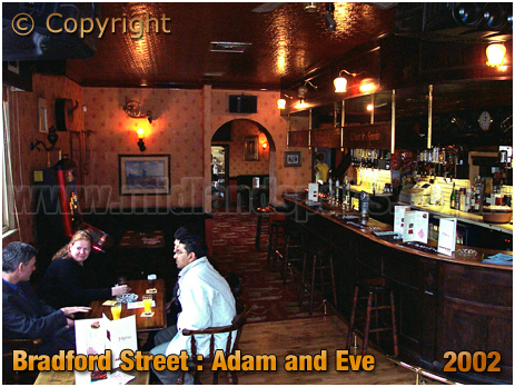 Birmingham : Bar of the Adam and Eve as a Music Venue [2002]