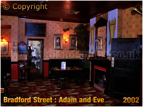 Birmingham : Back Room and Kitchen of the Adam and Eve as a Music Venue [2002]