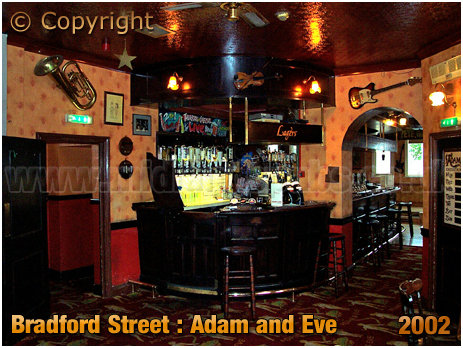 Birmingham : Inside the Adam and Eve as a Music Venue [2002]