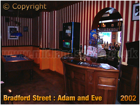 Birmingham : Pool Room of the Adam and Eve as a Music Venue [2002]