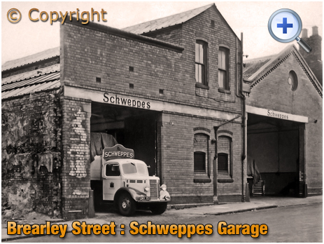 Birmingham : Schweppes Garage and Depot in Brearley Street at Hockley