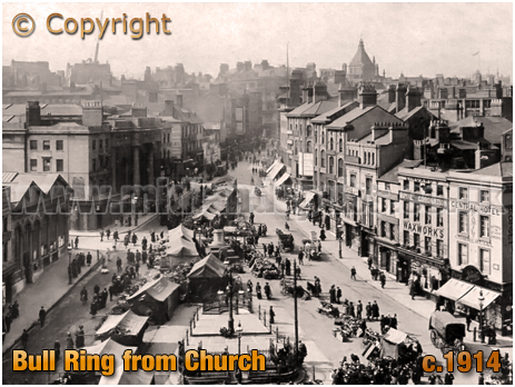 Birmingham : Bull Ring from Saint Martin's Church [c.1914]