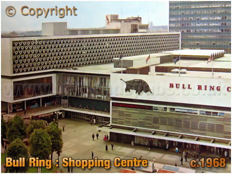Birmingham : Bull Ring Shopping Centre [c.1968]