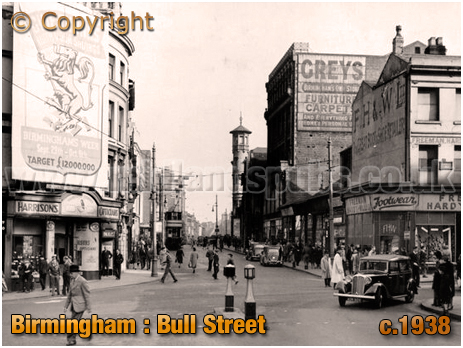 Birmingham : Bull Street [c.1938]
