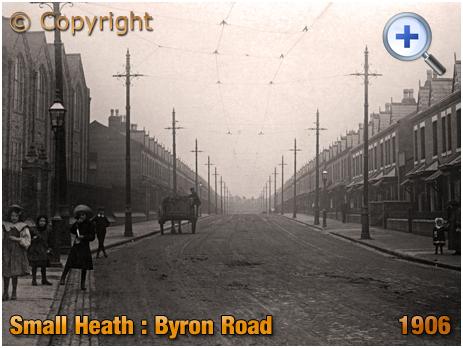 Birmingham : Byron Road at Small Heath [1906]