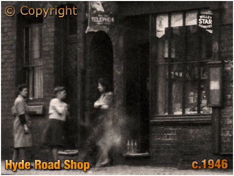Shop in Hyde Street next to The Hyde Arms on the corner of Clark Street at Ladywood in Birmingham [c.1946]