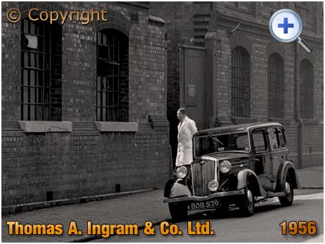Birmingham : Goods entrance of Thomas A. Ingram & Co. Ltd. on Clissold Street in Brookfields [1956]