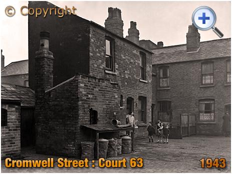 Birmingham : Court 63 in Cromwell Street at Nechells [1943]
