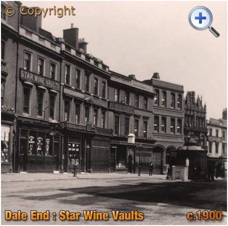 Birmingham : Star Wine Vaults on Dale End [c.1900]