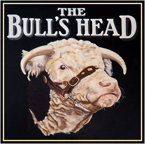 Inn Sign of The Bull's Head