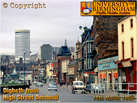 Digbeth from High Street Deritend [1968]