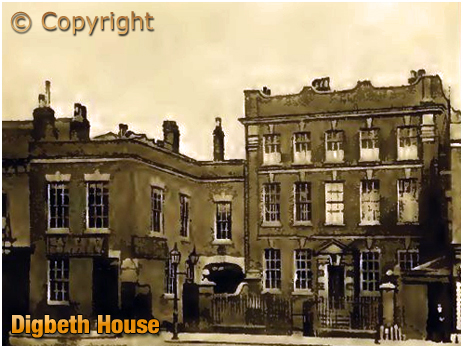 Digbeth House at Birmingham