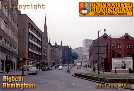 Modern Development on Digbeth close to Saint Martin's [c.1960]