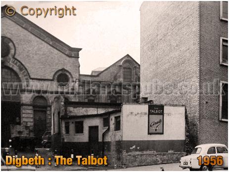 The Talbot at Digbeth in Birmingham [1956]