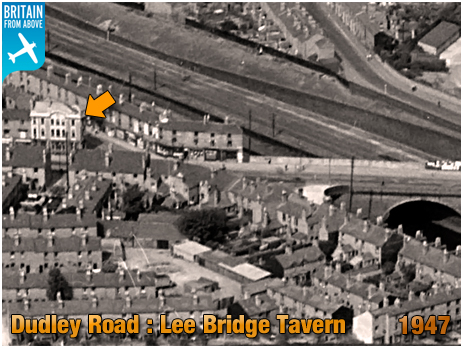 Birmingham : Aerial View of Lee Bridge and Dudley Road at Winson Green [1947]