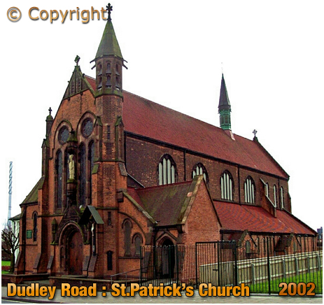 Birmingham : Saint Patrick's Church on Dudley Road at Winson Green [2002]