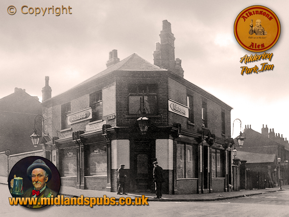 Birmingham : The Adderley Park Inn on Adderley Road at Saltley [c.1932]