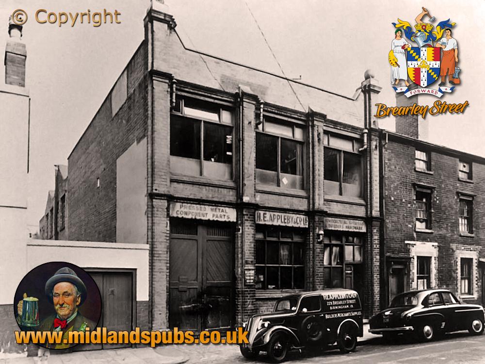 Birmingham : Premises of H. E. Appleby & Co. Ltd. in Brearley Street at Hockley [1956]