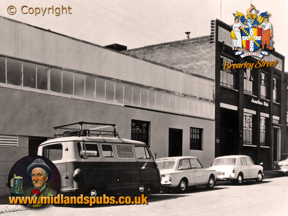 Birmingham : Premises of Brightside Plating Co. Ltd. in Brearley Street at Hockley [c.1964]