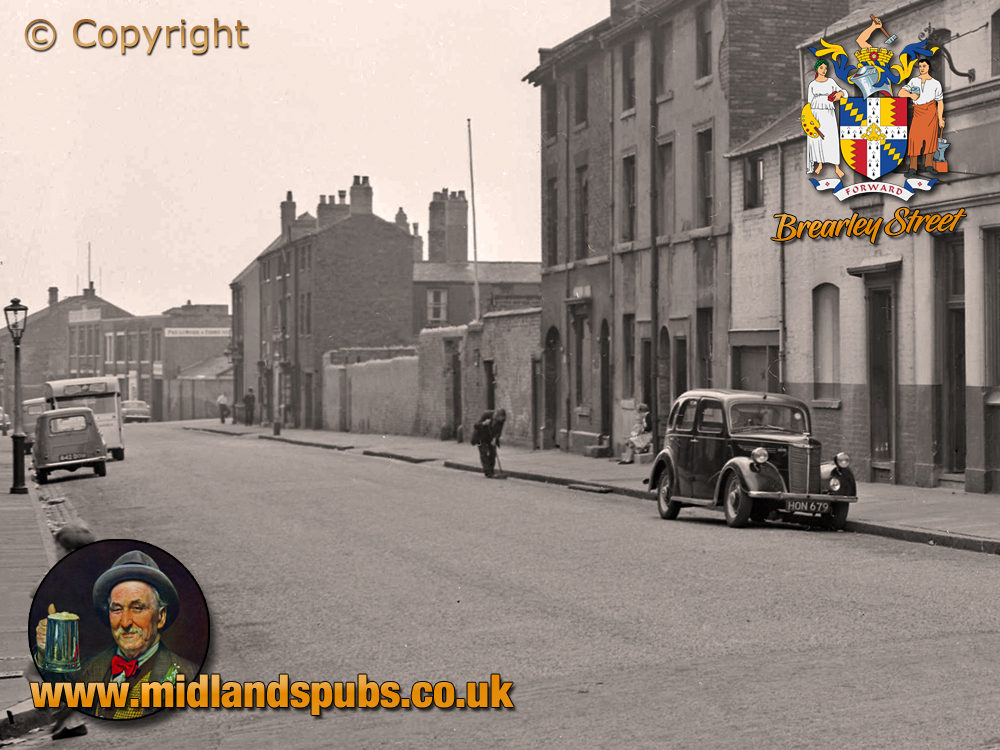 Birmingham : Brearley Street from Great Russell Street at Hockley [1961]