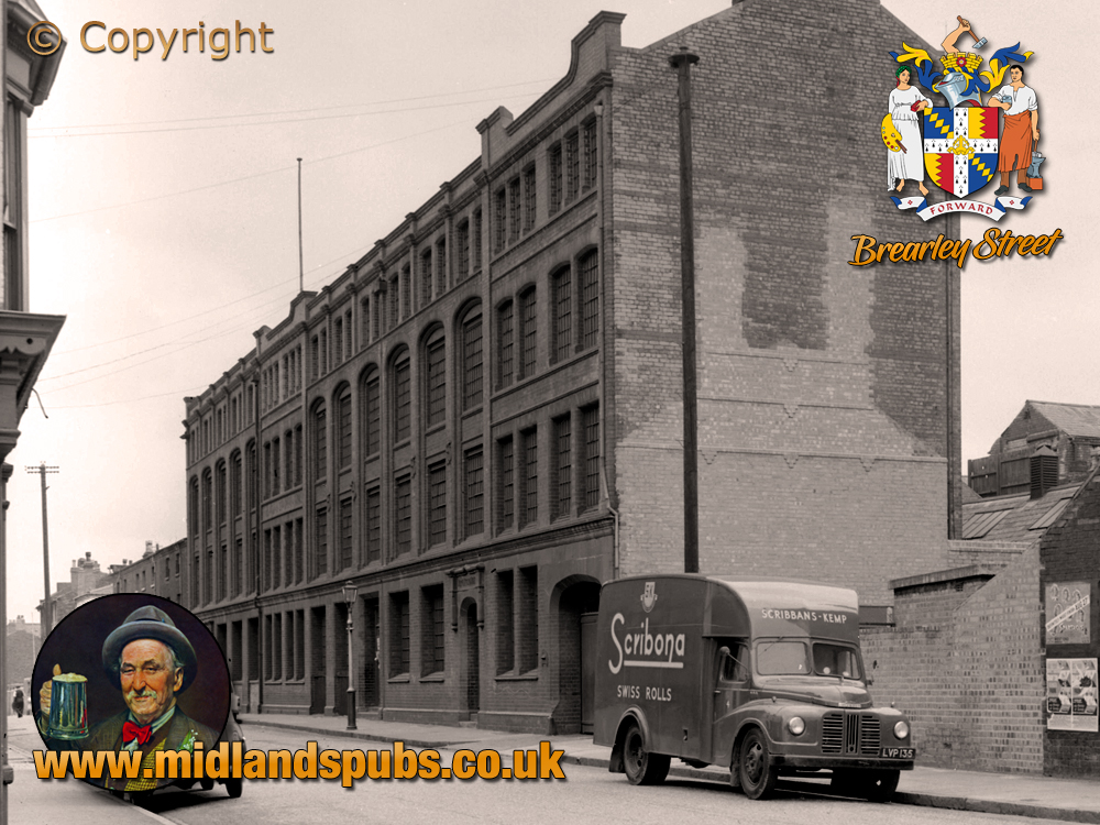 Birmingham : Factory of Morton and Crowder in Brearley Street at Hockley [1961]