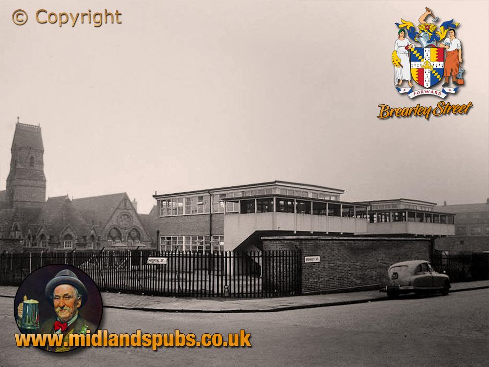 Birmingham : Nursery School on the corner of Brearley Street and Hospital Street at Hockley [c.1956]