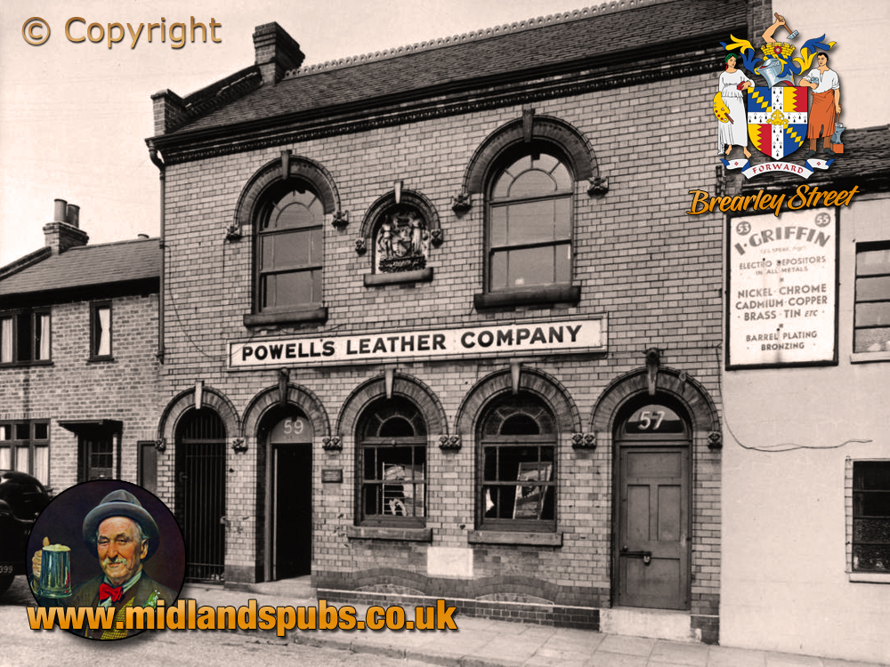 Birmingham : Premises of Powell' Leather Company in Brearley Street at Hockley [1956]