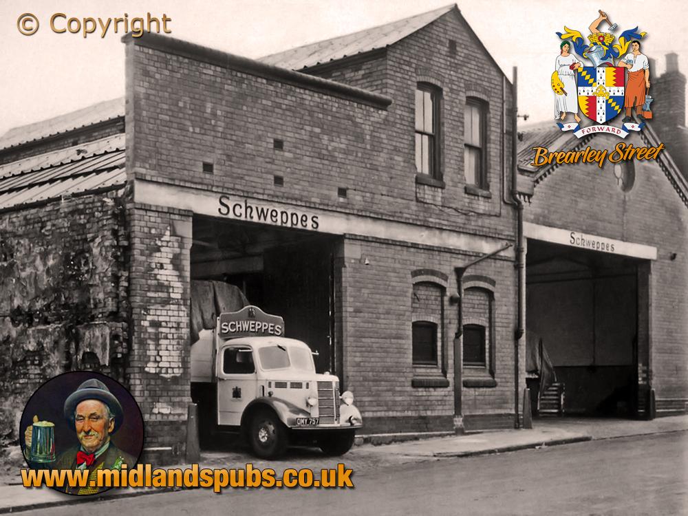 Birmingham : Schweppes Garage and Depot in Brearley Street at Hockley