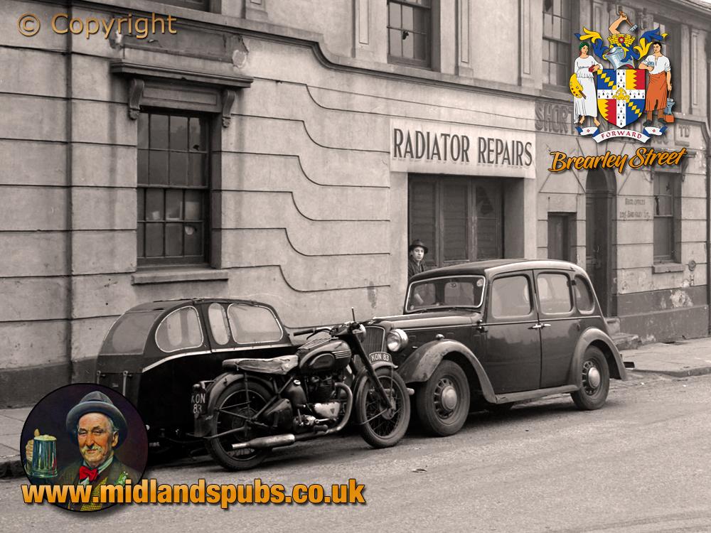 Birmingham : Premises of Shorthouse Fittings Ltd. on Brearley Street in Hockley [1956]