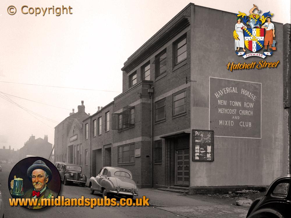 Birmingham : Havergal House in Hatchett Street at Aston New Town [1961]