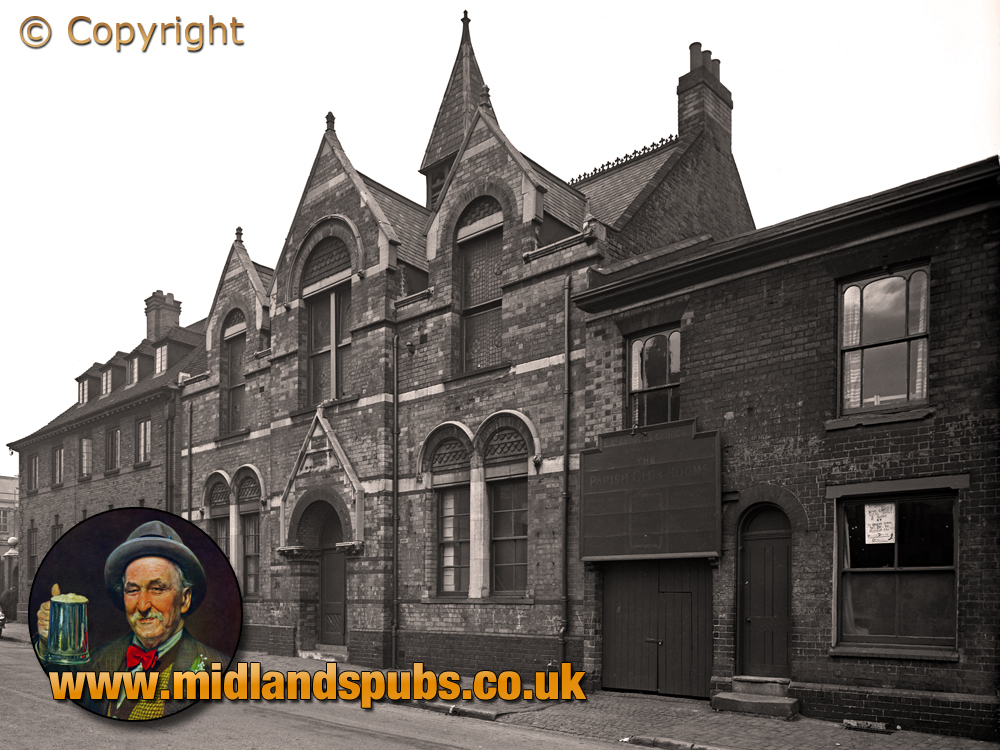 Birmingham : St. George's Church Clergy House and Parish Club Rooms on New John Street West in Hockley [1956]
