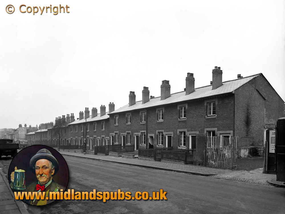 Birmingham : Housing on New John Street West in Hockley [1957]