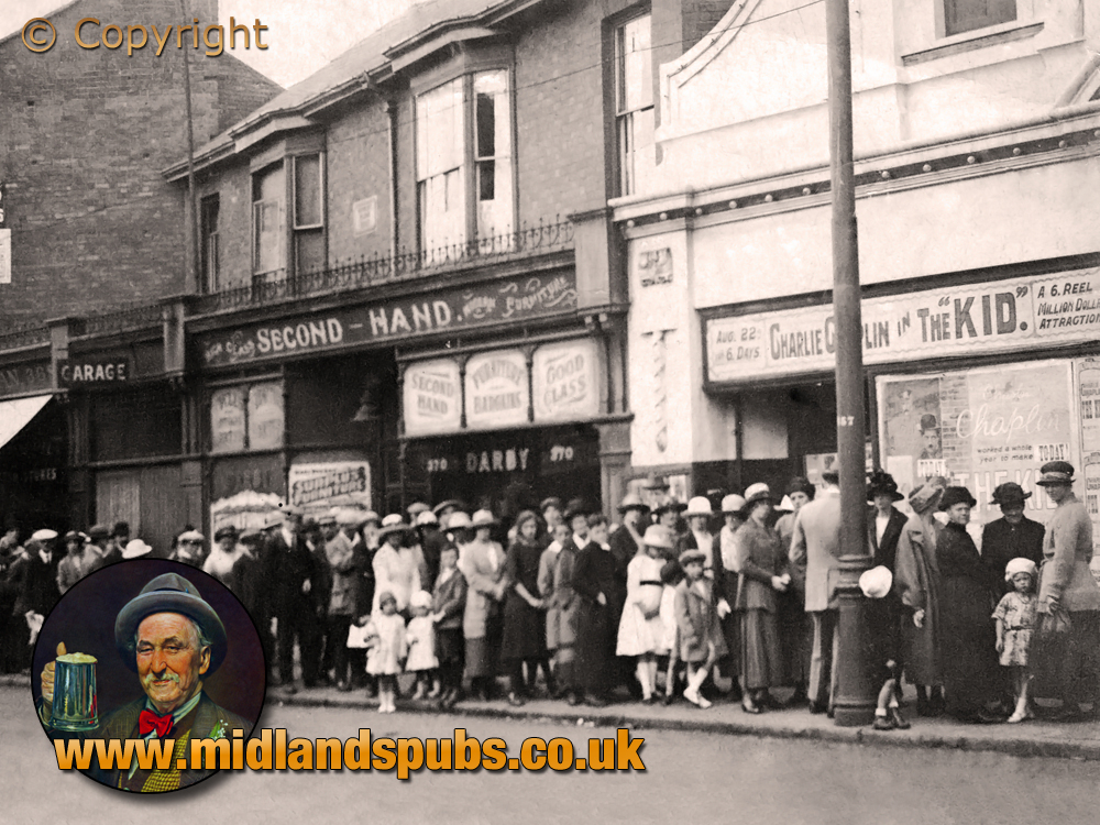 Birmingham : The Picturedrome Cinema on Stratford Road at Sparkhill [1921]