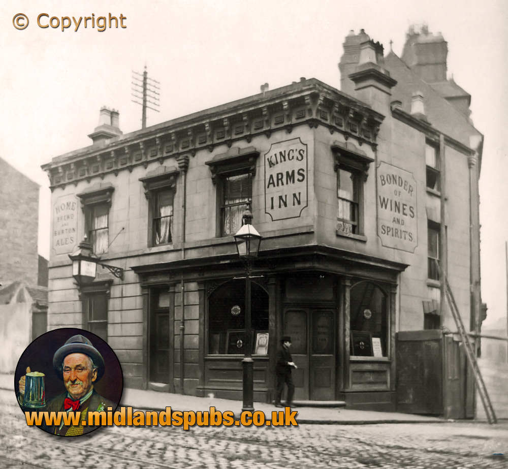 Birmingham : King's Arms Inn on Suffolk Street [c.1891]