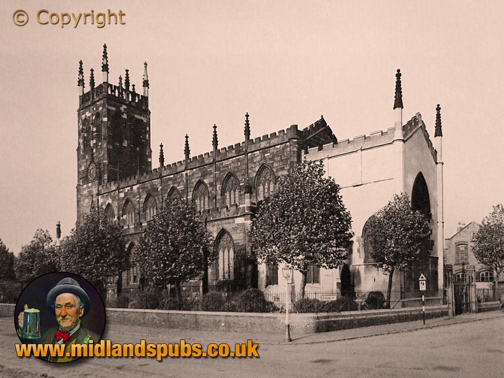 Birmingham : Saint George's Church in Tower Street at Hockley [c.1954]