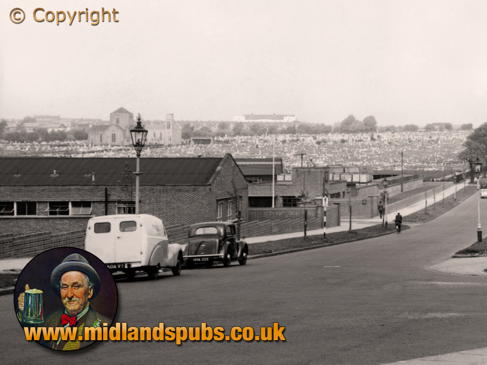 Birmingham : Clay Lane Complex and Cemetery at Yardley [1953]