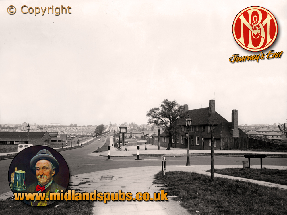 Birmingham : The Journey's End on Clay Lane at Yardley [1953]
