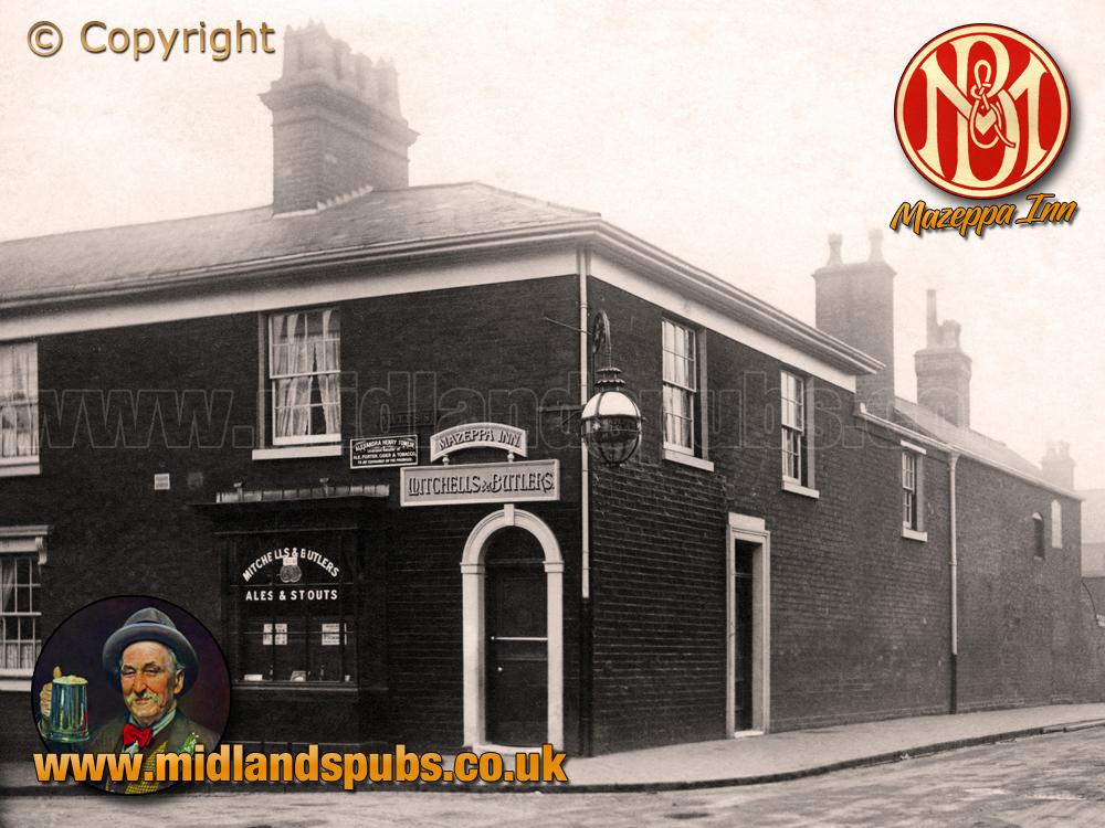 The Mazeppa Inn on Yates Street at Aston in Birmingham [c.1925]