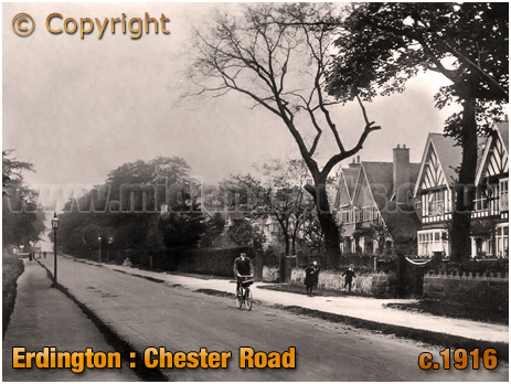 Birmingham : Chester Road at Erdington [1916]