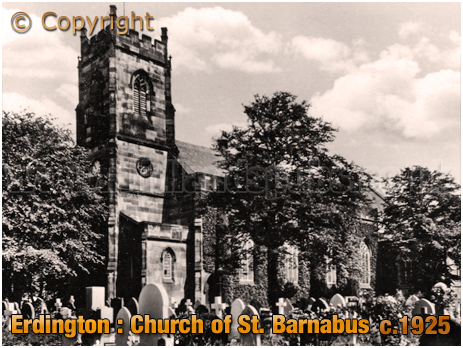 Birmingham : Church of Saint Barnabus at Erdington [1925]