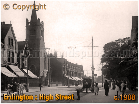 Birmingham : Erdington High Street [1908]
