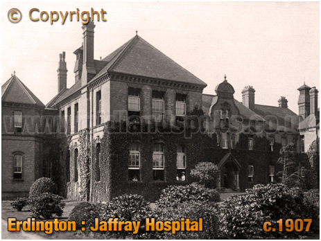 Birmingham : Jaffray Hospital at Erdington [1907]